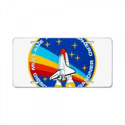 space shuttle program License Plate | Artistshot