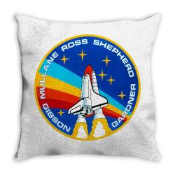 space shuttle program Throw Pillow | Artistshot