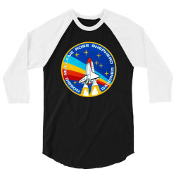 space shuttle program 3/4 Sleeve Shirt | Artistshot