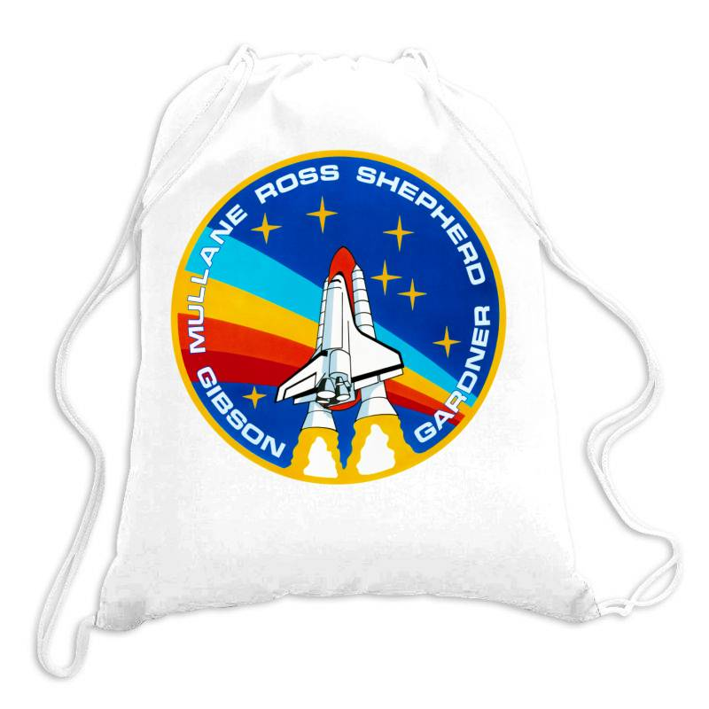 Space Shuttle Program Drawstring Bags | Artistshot