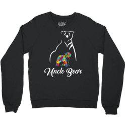 uncle bear white Crewneck Sweatshirt | Artistshot