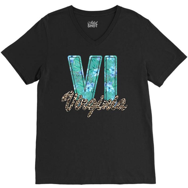 Virginia V-neck Tee | Artistshot