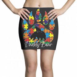 daddy bear autism awareness day Mini Skirts   Artistshot