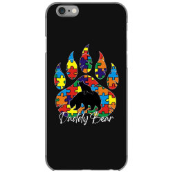 daddy bear autism awareness day iPhone 6/6s Case | Artistshot