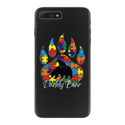 daddy bear autism awareness day iPhone 7 Plus Case | Artistshot