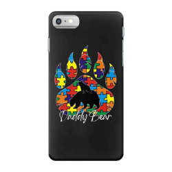 daddy bear autism awareness day iPhone 7 Case | Artistshot