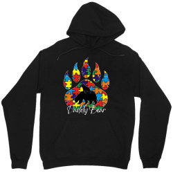 daddy bear autism awareness day Unisex Hoodie | Artistshot