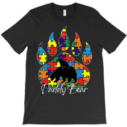 daddy bear autism awareness day T-Shirt | Artistshot