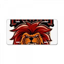 Lion of judah License Plate | Artistshot