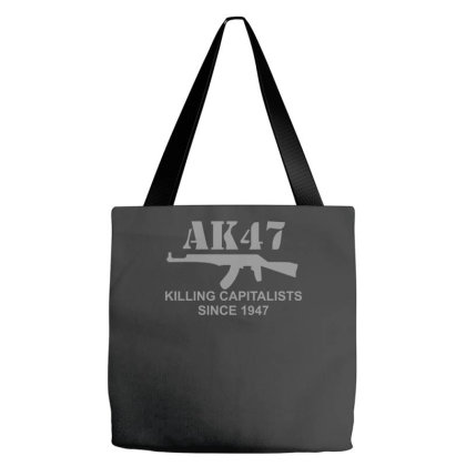 Ak47 Funny,political,weapons,cool,retro,rude Tote Bags Designed By Zak4