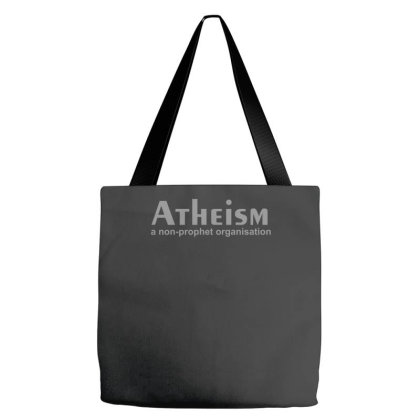 Atheism Funny Retro Religion Jesus Christ Believer Comic God Tote Bags Designed By Zak4