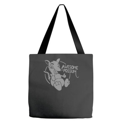 Awesome Possum Tote Bags Designed By Zak4