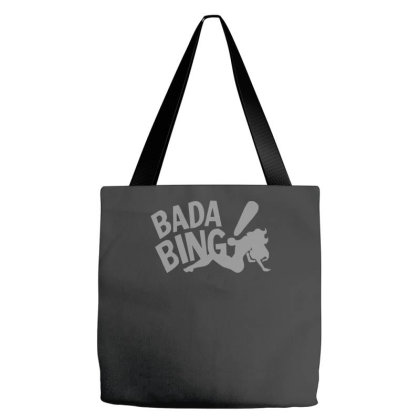 Badabing Funny Movie Film Gangster Banter Old Times Tote Bags Designed By Zak4