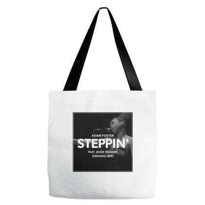 Adam Foster   Steppin' Album Cover Art Design Tote Bags Designed By Coolstars