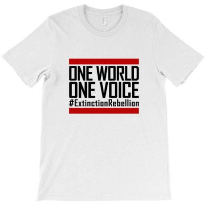 Er - Extinction Rebellion T-shirt Designed By Ampun Dj