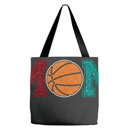 Basketball Mom For Dark Tote Bags Designed By Sengul