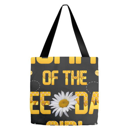 Mommy Of The Bee Day Girl Tote Bags Designed By Sengul