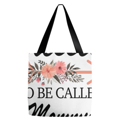 Blessed To Be Called Mommy For Light Tote Bags Designed By Sengul