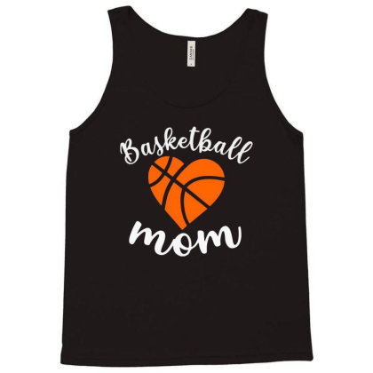 Basketball Mom For Dark Tank Top Designed By Sengul