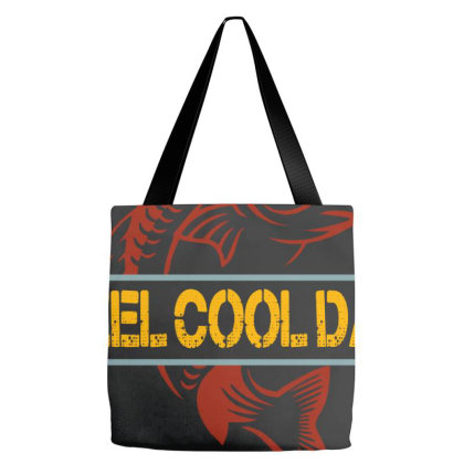 Reel Cool Dad Tote Bags Designed By Sengul