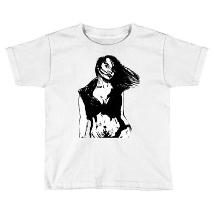 Comics Old Girl Toddler T-shirt Designed By Mysticalbrain