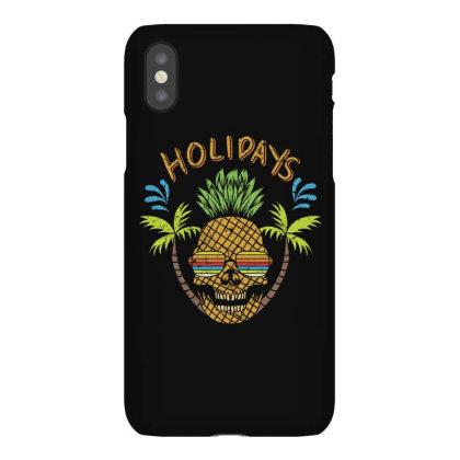 Holidays, Skull Iphonex Case Designed By Estore