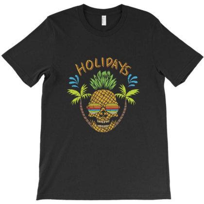 Holidays, Skull T-shirt Designed By Estore
