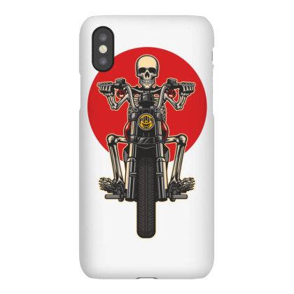 Skull Motorcycles Iphonex Case Designed By Estore
