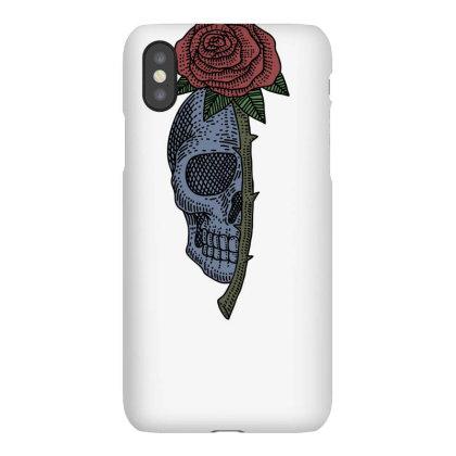 Skull Rose Iphonex Case Designed By Estore