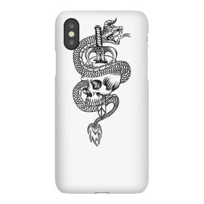 Skull Dragon Iphonex Case Designed By Estore