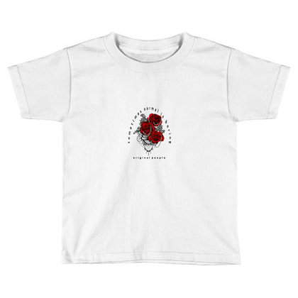 Flower Normal Is Boring Toddler T-shirt Designed By Wahyusurya