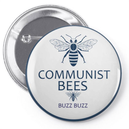 Communist Bees Pin-back Button Designed By Cloudystars