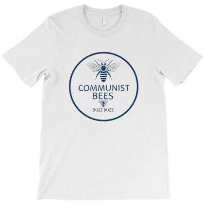 Communist Bees T-shirt Designed By Cloudystars