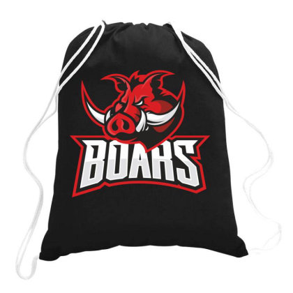 Boars Drawstring Bags Designed By Estore