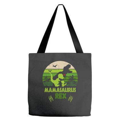 Mama Saurus Rex Tote Bags Designed By Badaudesign