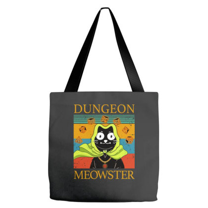 Dungeon Meowster Tote Bags Designed By Badaudesign