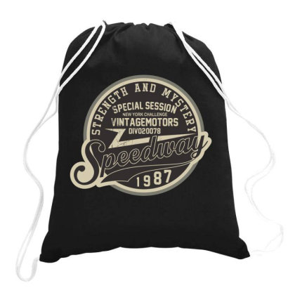 Speedway Drawstring Bags Designed By Estore