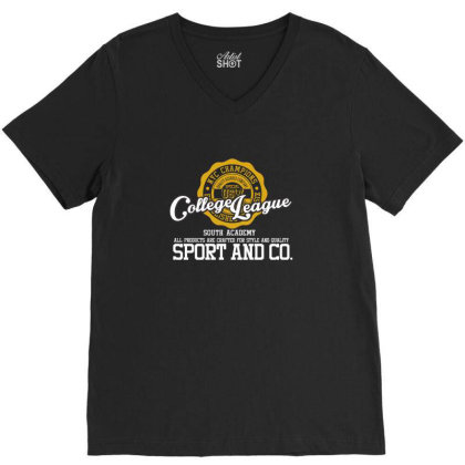 College League V-neck Tee Designed By Estore