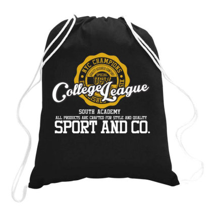 College League Drawstring Bags Designed By Estore