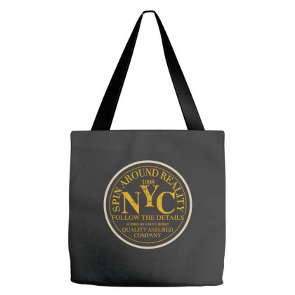 Sprin Around Reality Tote Bags Designed By Estore