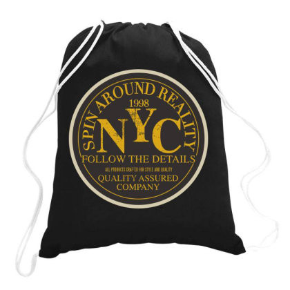 Sprin Around Reality Drawstring Bags Designed By Estore
