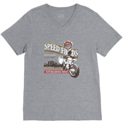 Speed V-neck Tee Designed By Estore