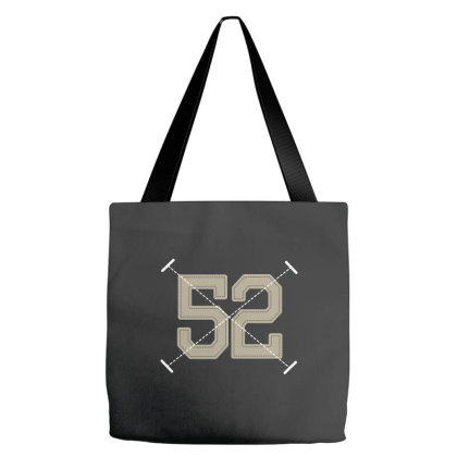 Number 52 Tote Bags Designed By Estore