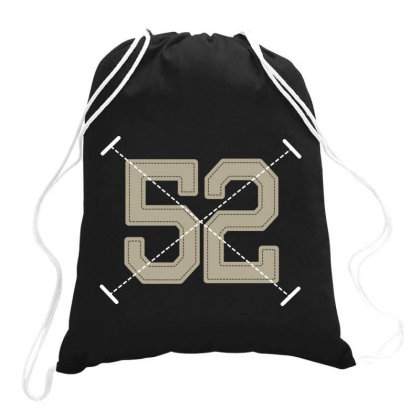 Number 52 Drawstring Bags Designed By Estore