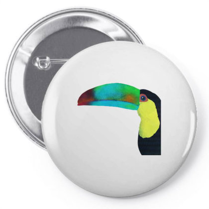 A Colorful Toucan Pin-back Button Designed By Just4you