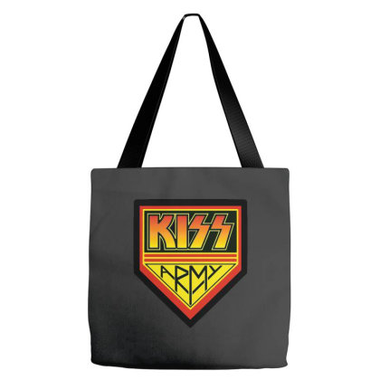 Army Kiss Tote Bags Designed By Just4you
