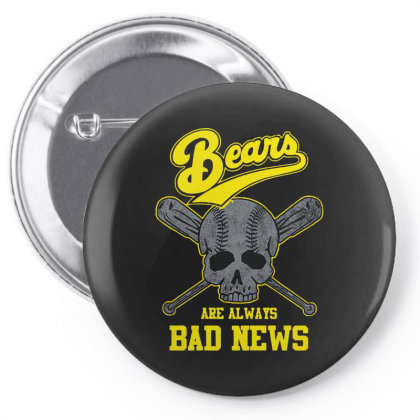 Bad News Bears Pin-back Button Designed By Just4you
