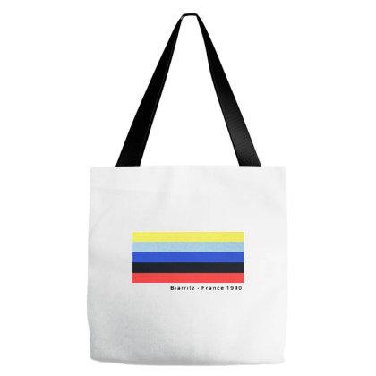 Biarritz France 1990 Tote Bags Designed By Just4you