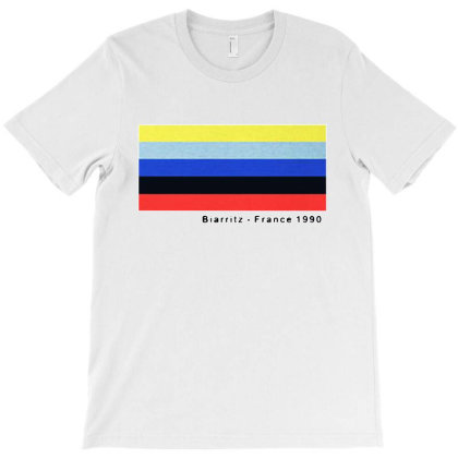 Biarritz France 1990 T-shirt Designed By Just4you