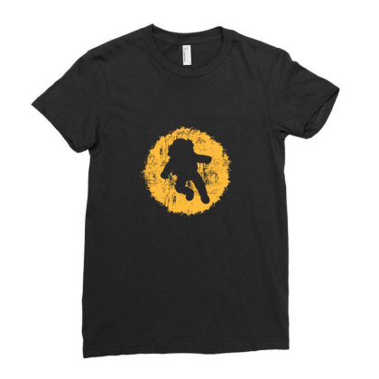 Astronaut Lover Ladies Fitted T-shirt Designed By Sr88